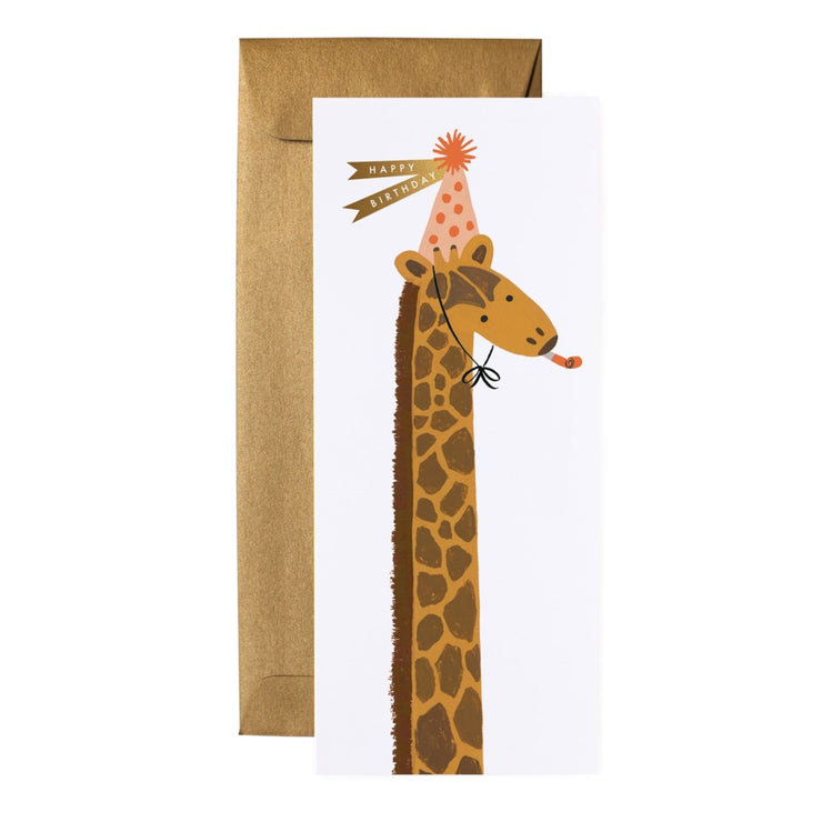 Birthday Giraffe Card