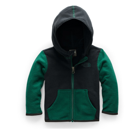 toddler glacier night green hoodie