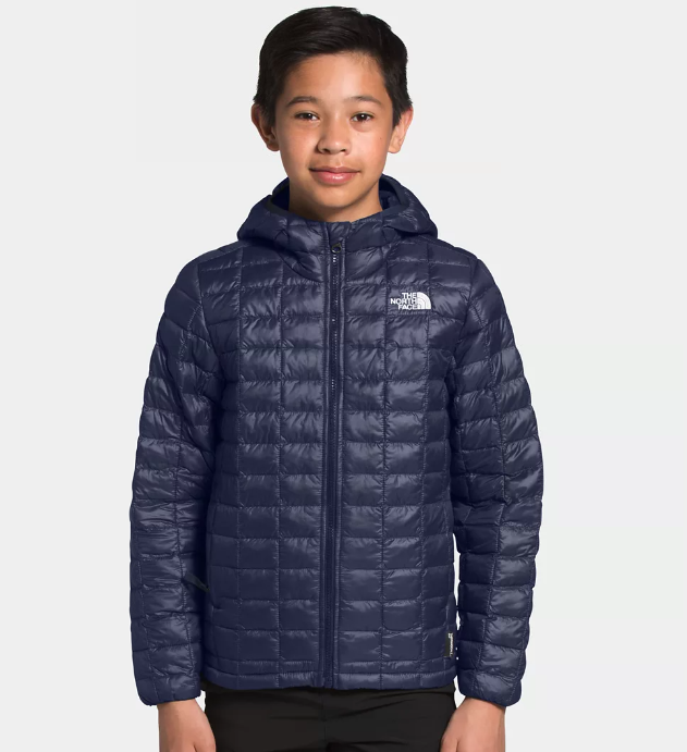 Boys Thermoball Eco Hoodie in Navy
