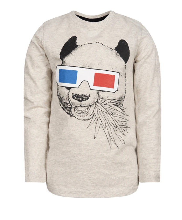 Panda Vision Long Sleeve Shirt