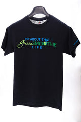 Green Smoothie Life T-shirt - Black