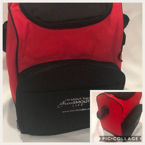 Lunch Tote - Red/Black