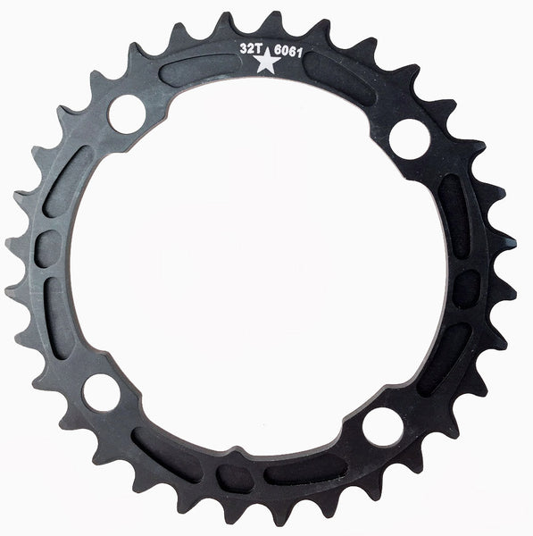104 32T Sharktooth Narrow Wide Mountain Chainring