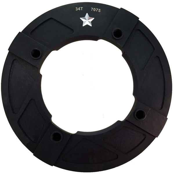 104 34T ST Pro INTEGRATED Guard Mountain Chainring