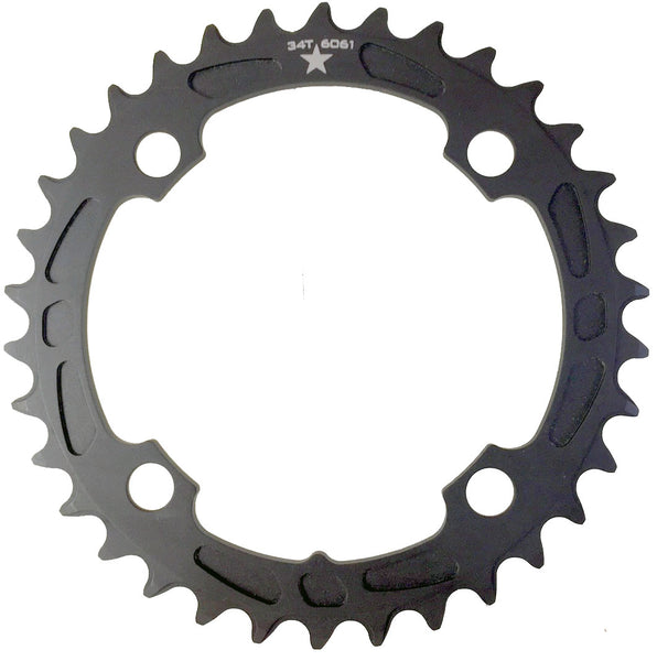 104 34T Sharktooth Narrow Wide Mountain Chainring