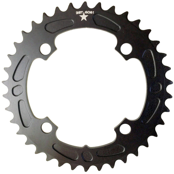 104 38T Sharktooth Narrow Wide Mountain Chainring