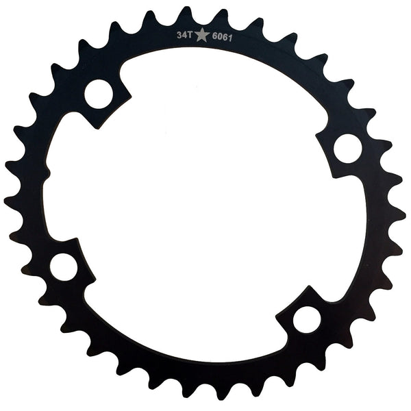 OVAL 110 4-Bolt ST CXR 34T Road / Cross Compact Chainring