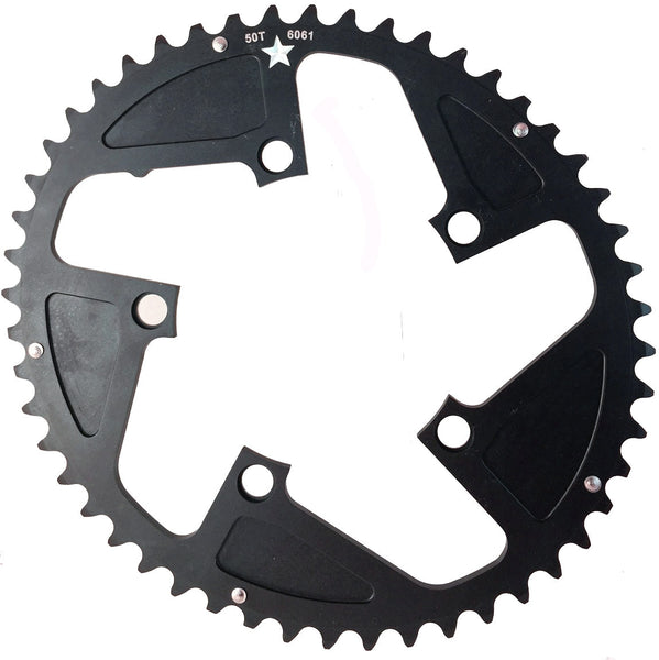 OVAL 110 5-Bolt SR CXR 50T Road / Cross Compact Chainring