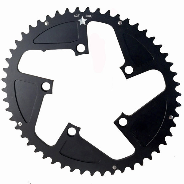 OVAL 110 5-Bolt SR CXR 52T Road / Cross Compact Chainring
