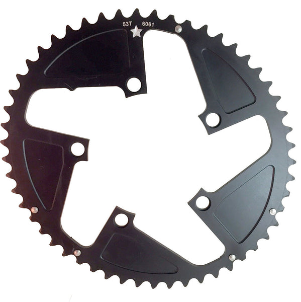OVAL 110 5-Bolt SR CXR 53T Road / Cross Compact Chainring