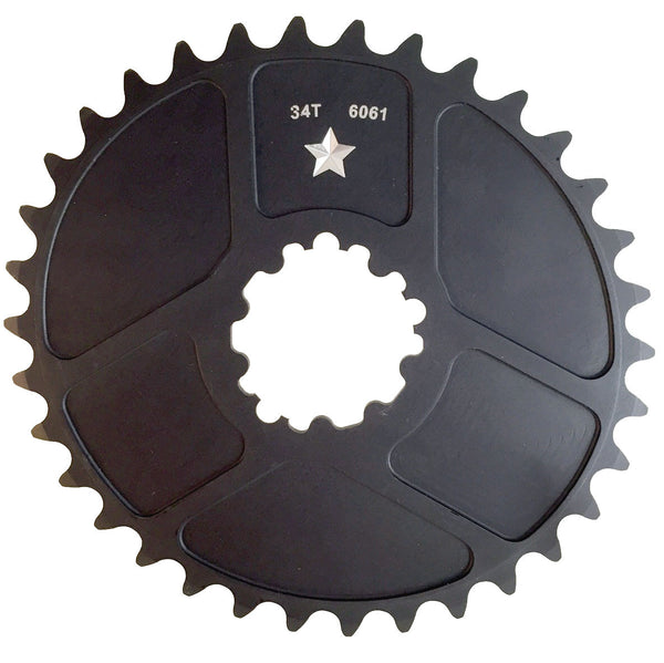 OVAL BB30/GXP 34T ST Mountain Chainring- CLOSEOUT PRICE