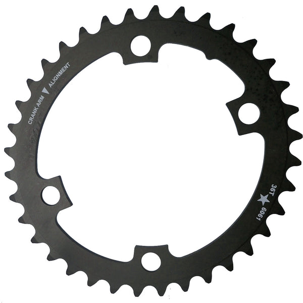 OVAL 110 4-Bolt ST CXR 38T Road / Cross Compact Chainring