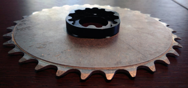 OVAL BB30/GXP 30T ST Mountain Chainring