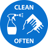 Clean Often Decal