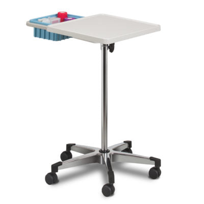 Mobile Phlebotomy Workstation with Bin