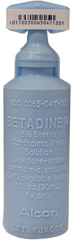 Betadine Ophth 5% Solution, 30 mL
