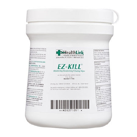 E-Z Kill Disinfectant Wipes with Alcohol