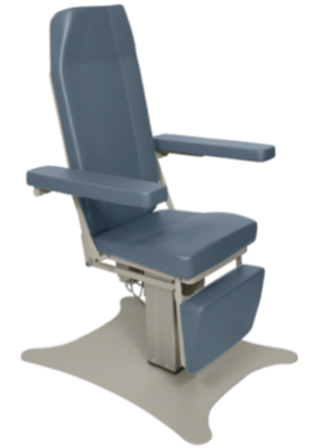 Ultra-Comfort Powered Phlebotomy Chair with Hi-Lo and Power Back