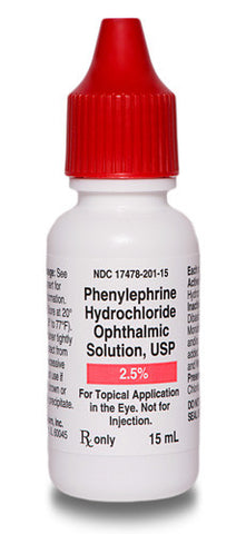 Phenylephrine 2.5% 15 mL