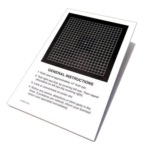Amsler Grid Recording Chart, 50 Sheets