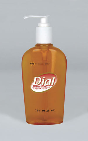 Dial Gold with Pump, 7.5 oz