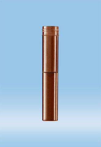 False Bottom Screw Cap Tube, Amber, 5 mL