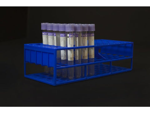13 mm Resin Tube Racks, Blue