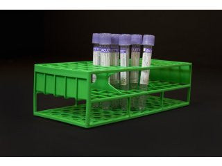 13 mm Resin Tube Racks, Green