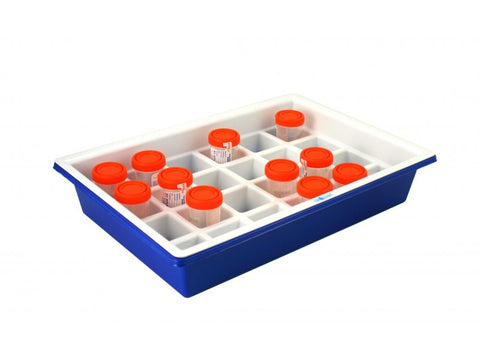 Urine Sample Tray with Label