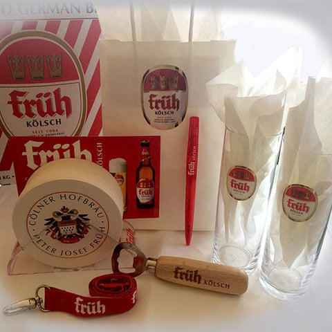 Früh Kölsch Beer Merch Sampler Set