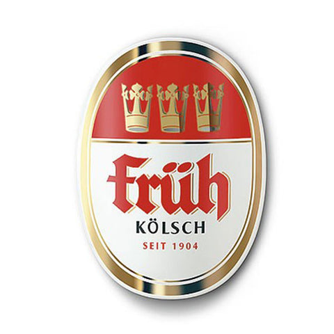 Früh Kölsch Beer Sign - Metal