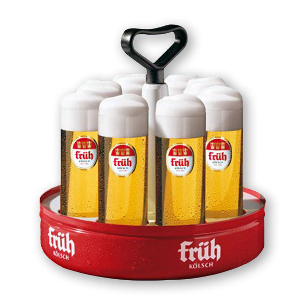 Früh Kölsch Tray - Kranz for 8 glasses