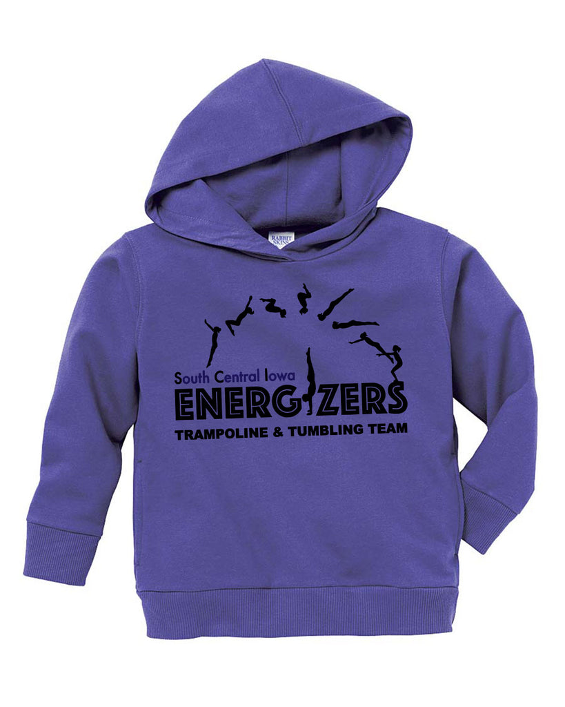 3326 Toddler Pullover Fleece Hoodie - Purple
