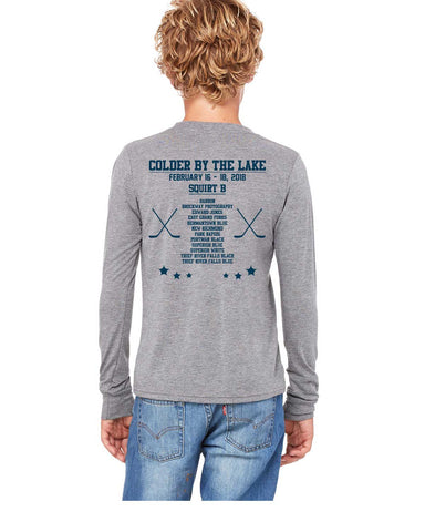 Colder By The Lake Squirt B Long Sleeve T-Shirt