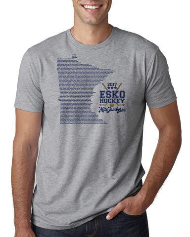 Esko Hockey Mite Jamboree 2017 T-Shirt - 3600, 3900, 3310