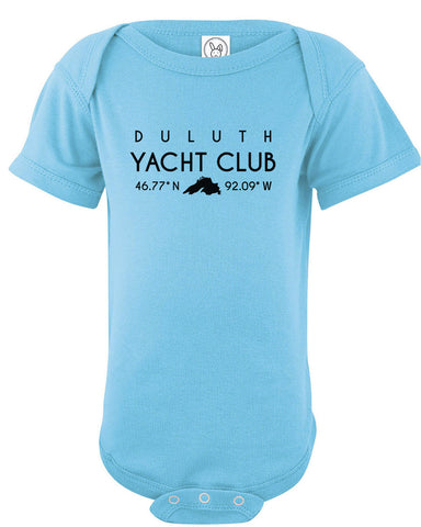 Duluth Yacht Club Infant Onesie