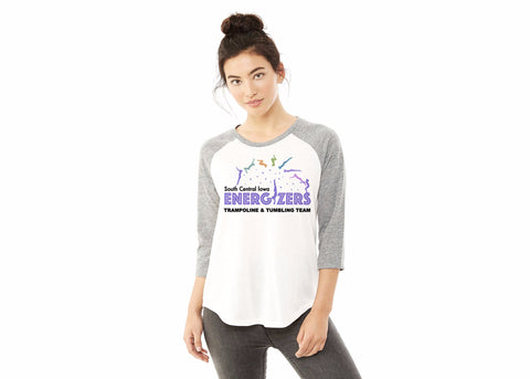 61352 Alternative Ladies' Eco Jersey Raglan Baseball T-Shirt