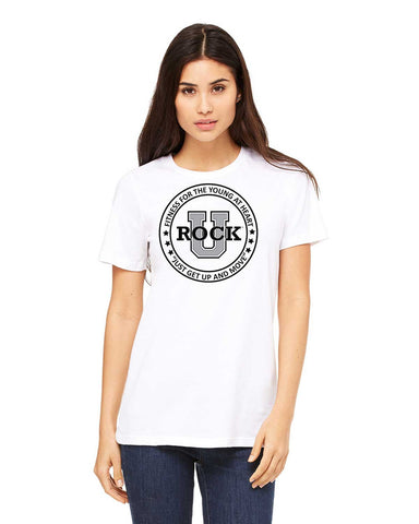 Rock U Women's T-Shirt Front Logo 6400