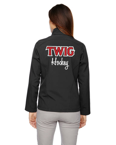 78184 Twig Hockey Mom Jacket and Decoration
