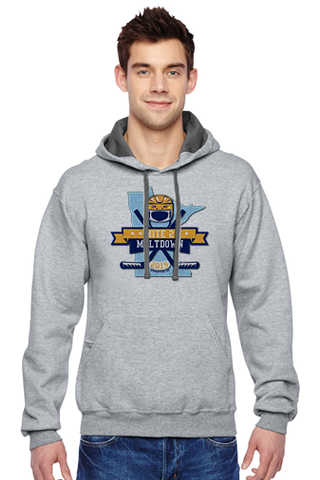 SF76R Adult Hooded Sweatshirt- Mite 2 Meltdown