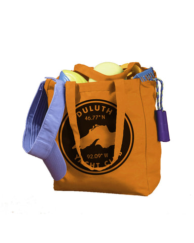 Duluth Yacht Club BE008 12 Oz Canvas Book Tote