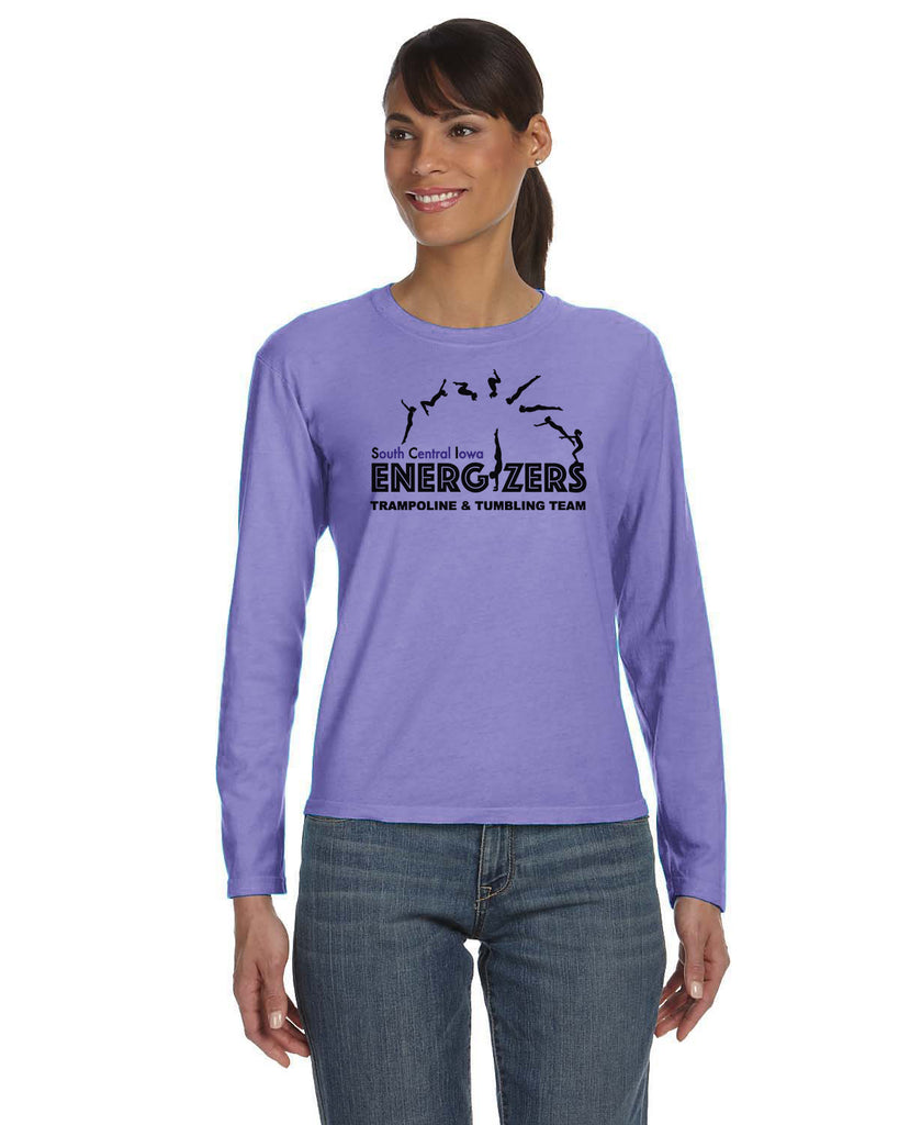 C3014 Comfort Colors Ladies Long Sleeve Tee