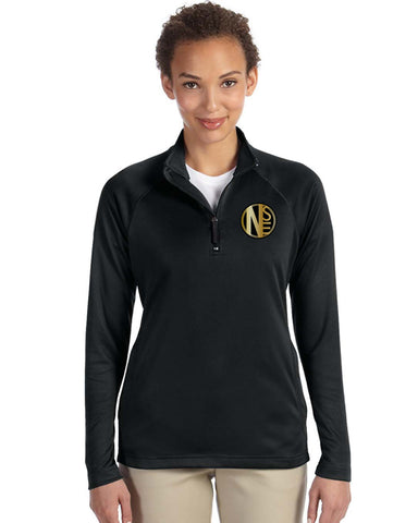 DG440 Ladies' Quarter Zip Pullover