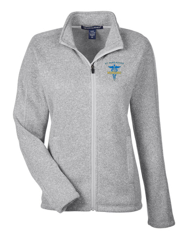 CSS Nursing Program- Women's Embroidered Fleece Full Zip- DG793W
