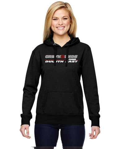 Duluth East Youth Cheerleading Glitter Hoodie - JA8860/JA8606