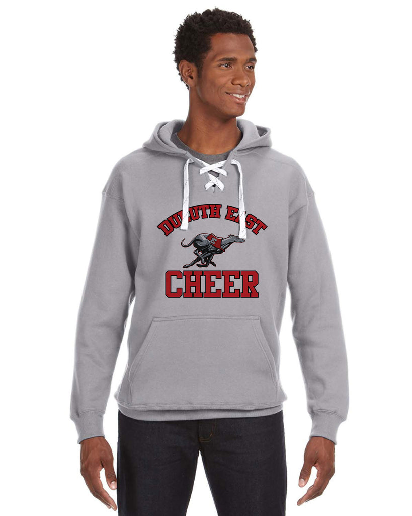 Duluth East Youth Cheerleading Sport Lace Hoodie - JA8830