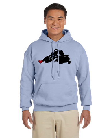 G185 Lake Superior Home Sweatshirt