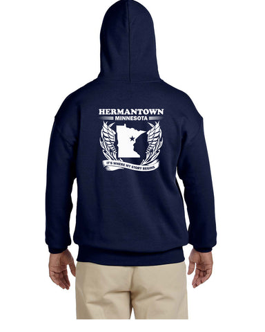Hermantown Class Reunion Pullover Hoodie - G185