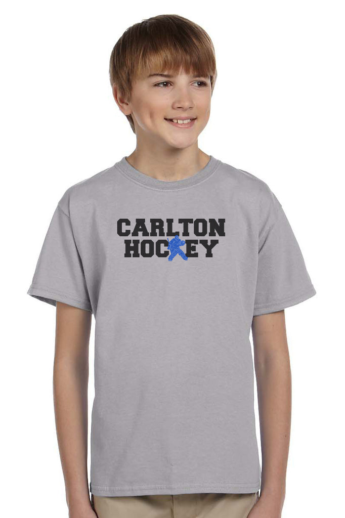 G200B - Gildan Youth Cotton Tee - Carlton Hockey