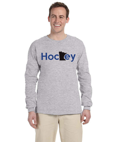 G240 Long Sleeve Tee - MN Hockey